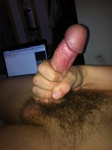 guy-wanking-his-cut-cock